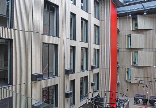 På rundtur i det nye Radisson Red hotel i Aarhus