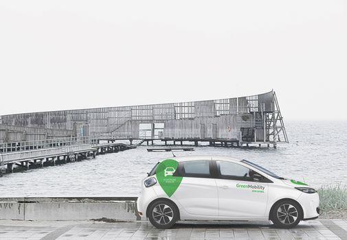 El-delebiler fra GreenMobility skaber grøn mobilitet i byrummet