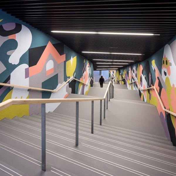 Royal_Arena_Trappe_korridor_Interval