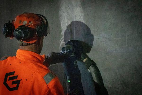 Test af betonsliber fra Carat: Variabel hastighed vakte begejstring