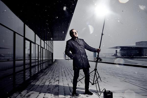 Portræt af lysdesigner Jesper Kongshaug