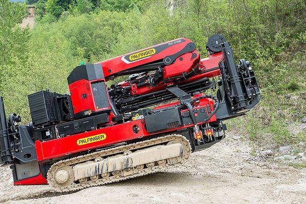 Crawler Crane leverer uovertruffen mobilitet og styrke