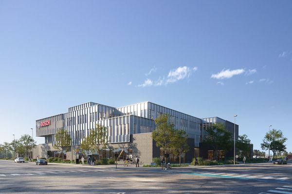 Boschs nye hovedkvarter bliver med træ i primære konstruktioner