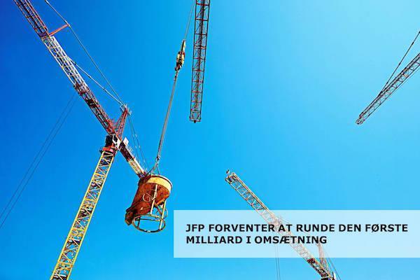 JFP forventer at runde sin første milliard i omsætning