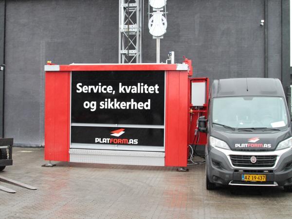 Platform.as præsenterer Danmarks største hejs