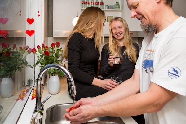 Vandbesparende projekt reducerer husstands vandforbrug med 58%