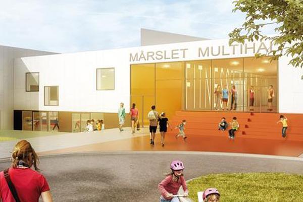 Flere danske idrætshaller arkitekttegnes