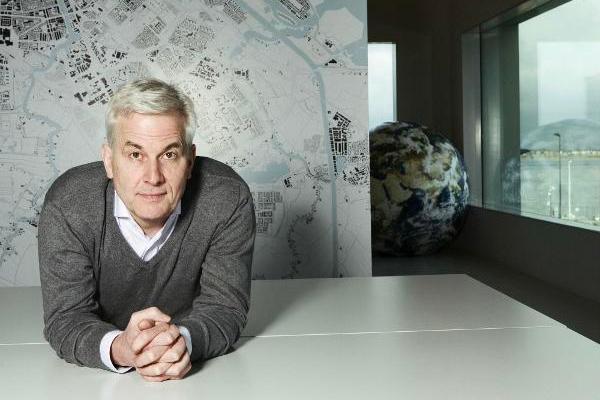Internationalt arkitekt-ikon med grønne visioner gæster Building Green