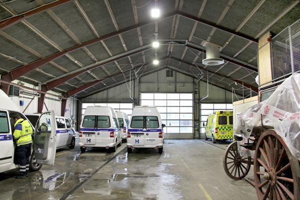 Københavns Brandvæsen - ny belysningsløsning giver energibesparelse på hele 63 %
