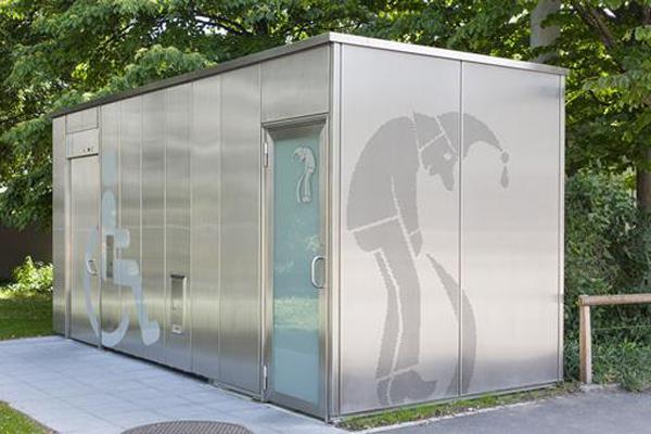 Offentlig toiletbygning – Waggis