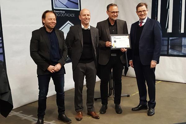 Dansk virksomhed vinder prestigefuld europæisk pris