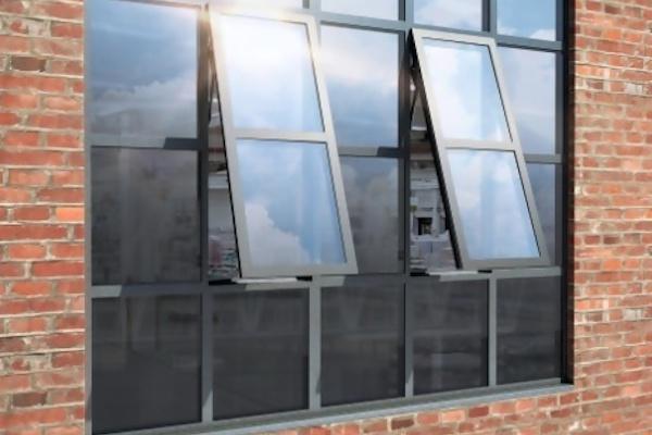 Vinduessystemet i stål til den elegante renovering