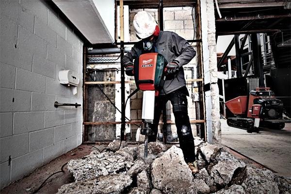 Milwaukee® introducerer to nye, stærke nedbrydningshammere med lavt vibrationsniveau
