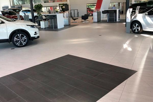 De danske autohuse og Næstved Flisecenter i tæt samarbejde