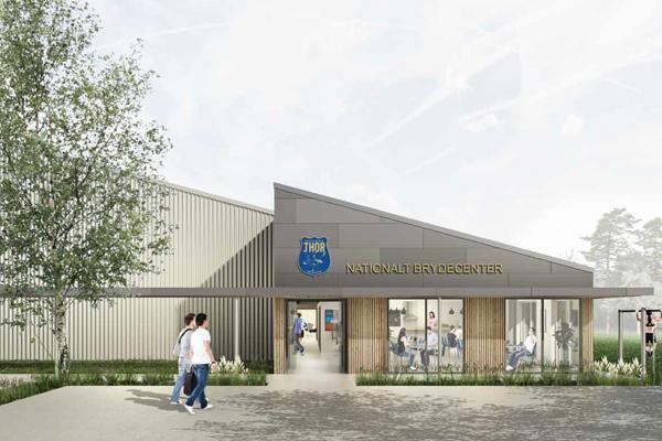 Dansk Halbyggeri skal bygge nationalt brydecenter
