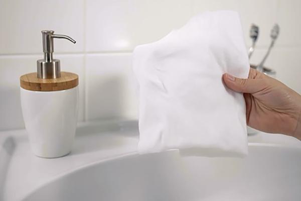 Hold din vandhane skinnende ren