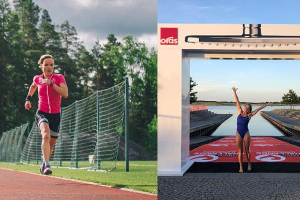 Oras Esteta Wellfit testet af triatleterne Kaisa Sali og Michelle Vesterby