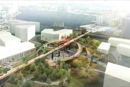 Building Green Aarhus: spændende byvandring i Sydhavnen