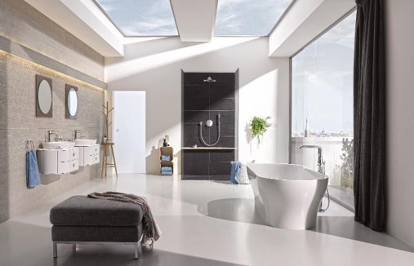 GROHE træder stærkt ind på scenen for sanitetskeramik og tilbyder det komplette badeværelse