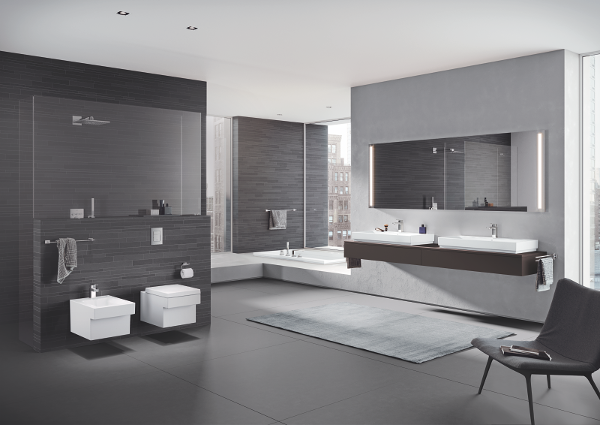 GROHE præsenterer sanitetskeramikserien - Cube - Den klare stilerklæring