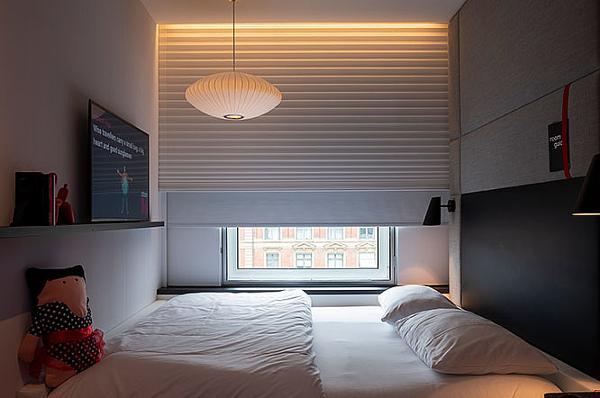 Fjernstyret solafskærmning til koncepthotel