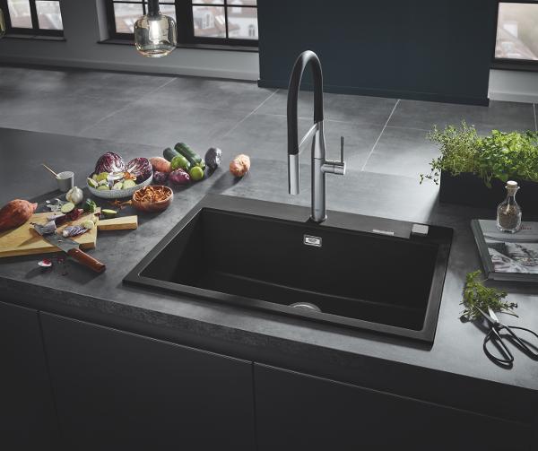 GROHE køkkenvaske i komposit – Kvalitet der varer en levetid