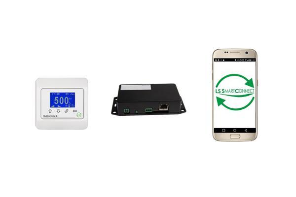 LS SmartConnect Light: Styr ventilation på baggrund af fugt, varme og CO2