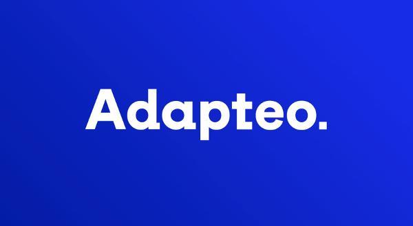Nu hedder vi Adapteo