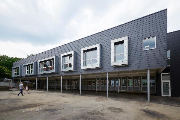 KOMPROMENT leverer facade til skolebyggeri i Kolding