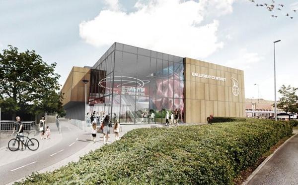 Ny, moderne biograf i Ballerup