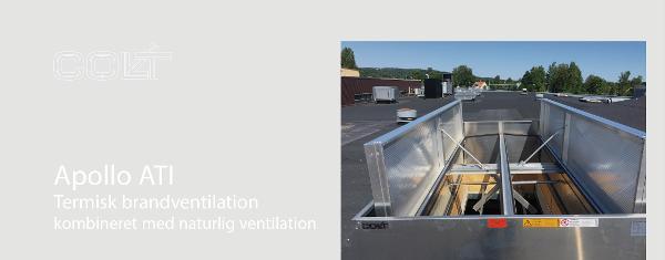 Apollo ATI - Termisk brandventilation kombineret med naturlig ventilation