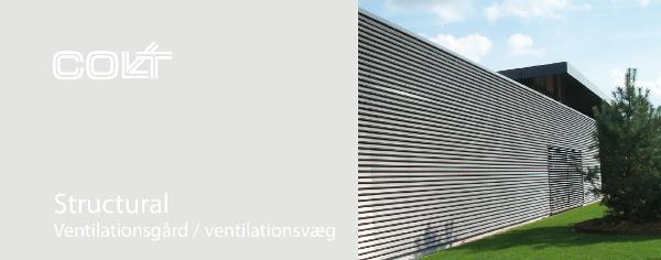 Structural Ventilationsgård / ventilationsvæg