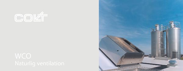 WCO - Naturlig ventilation