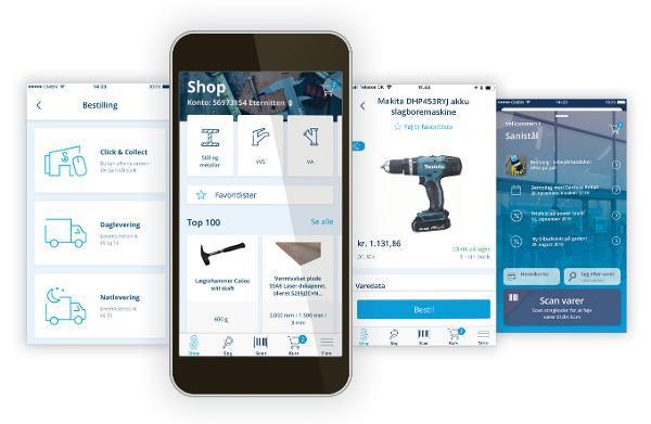 Ny app fra Sanistål optimerer indkøbsoplevelsen for den enkelte bruger