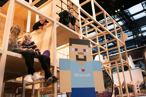 """Samarbejde med Dansk Arkitektur Center omkring """"Børnebyen"""""""