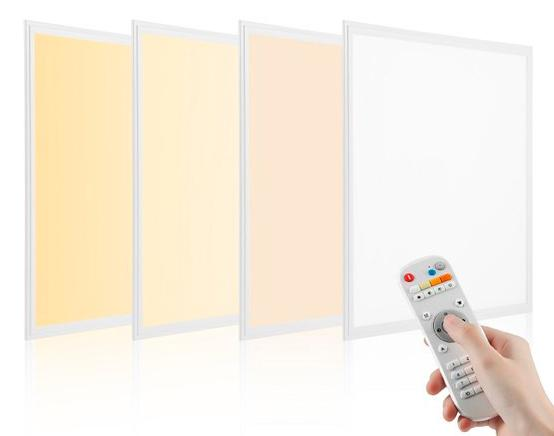 LED TrueColor CCT panel 60x60