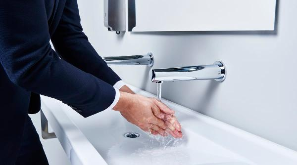 Berøringsfri vandhaner for maksimal hygiejne