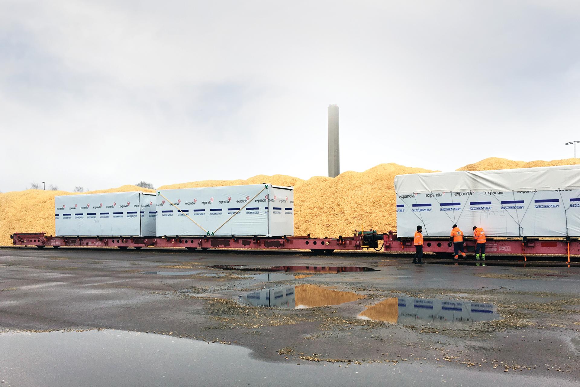 Modulproducent: Transport med tog giver 99 % mindre CO2