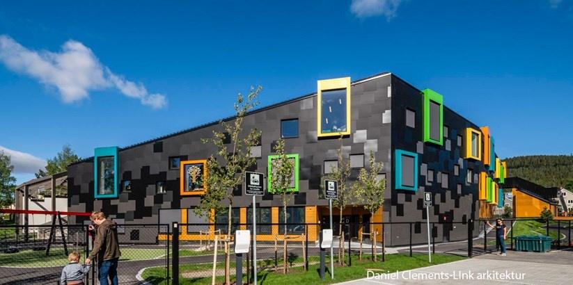 BREEAM NOR-niveauet Excellent til plushus med facadeplader fra Steni