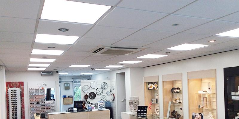 LED butiksbelysning for optimal udbytte og mange muligheder