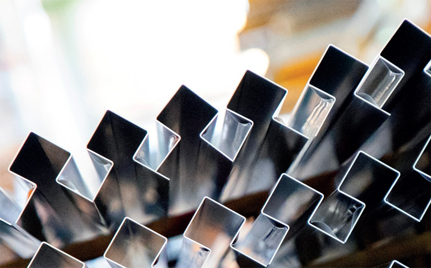 Nyt produktprogram i aluminium