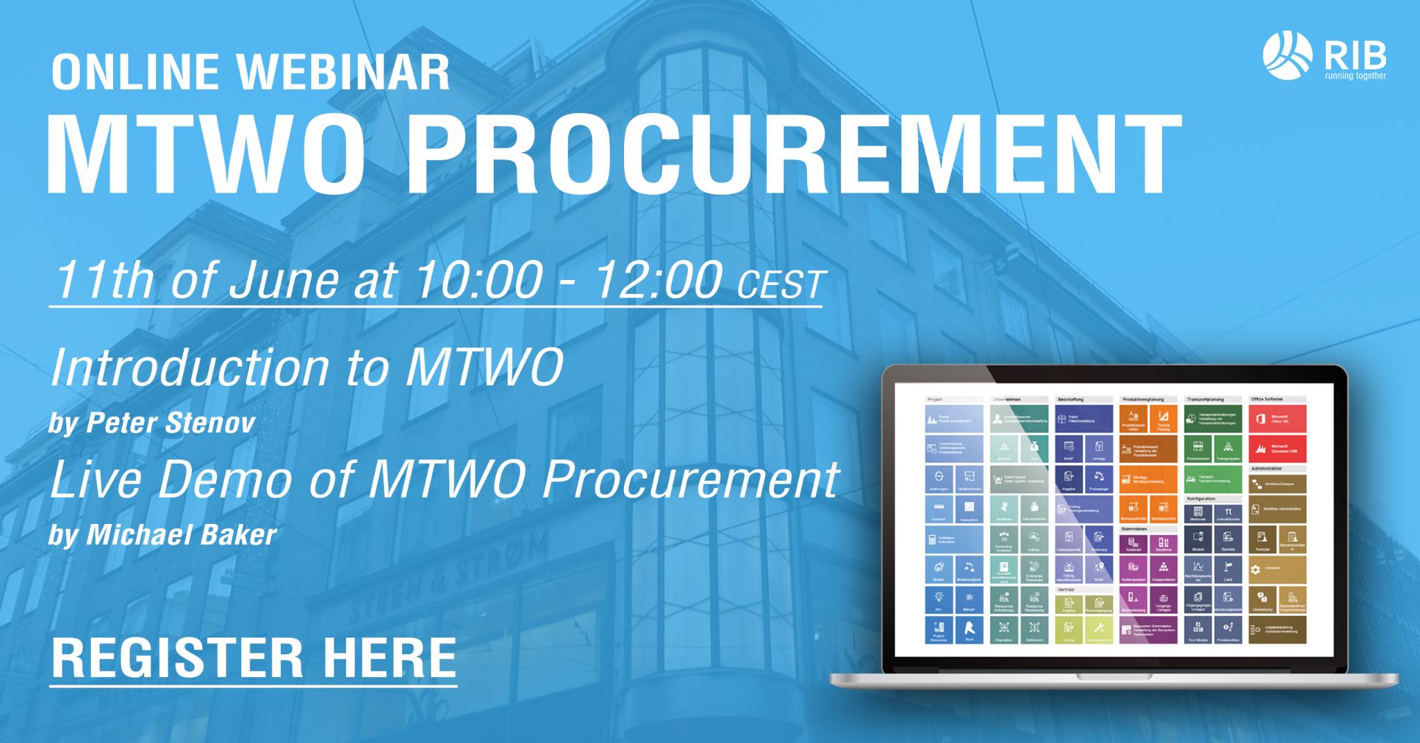 WEBINAR: MTWO Procurement