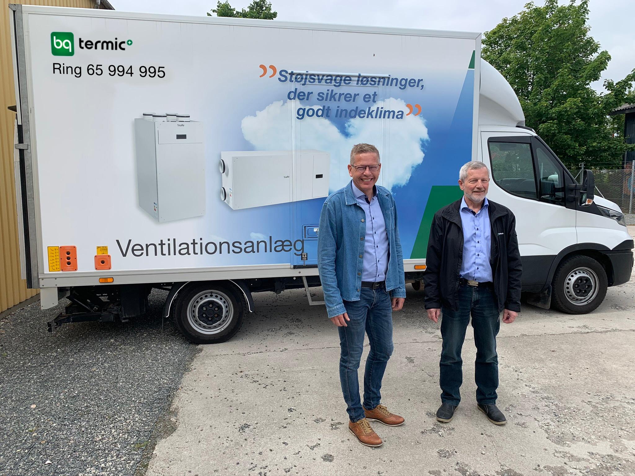 Grøn koncern sammenlægger ventilation og biovarme under nyt navn