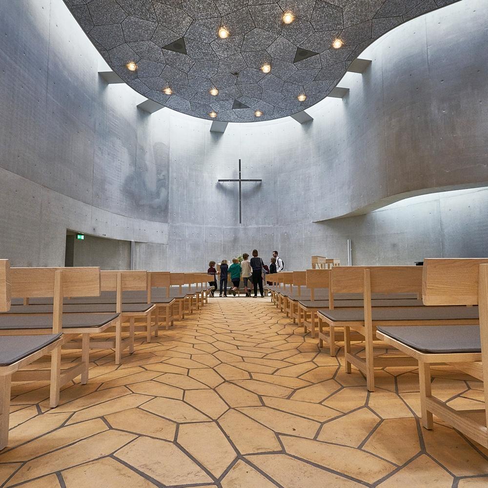 Akustik, lys og luft skal understøtte arkitekturen