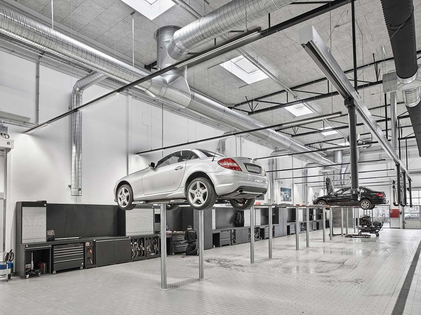 Belysning til fremtidens bilhus