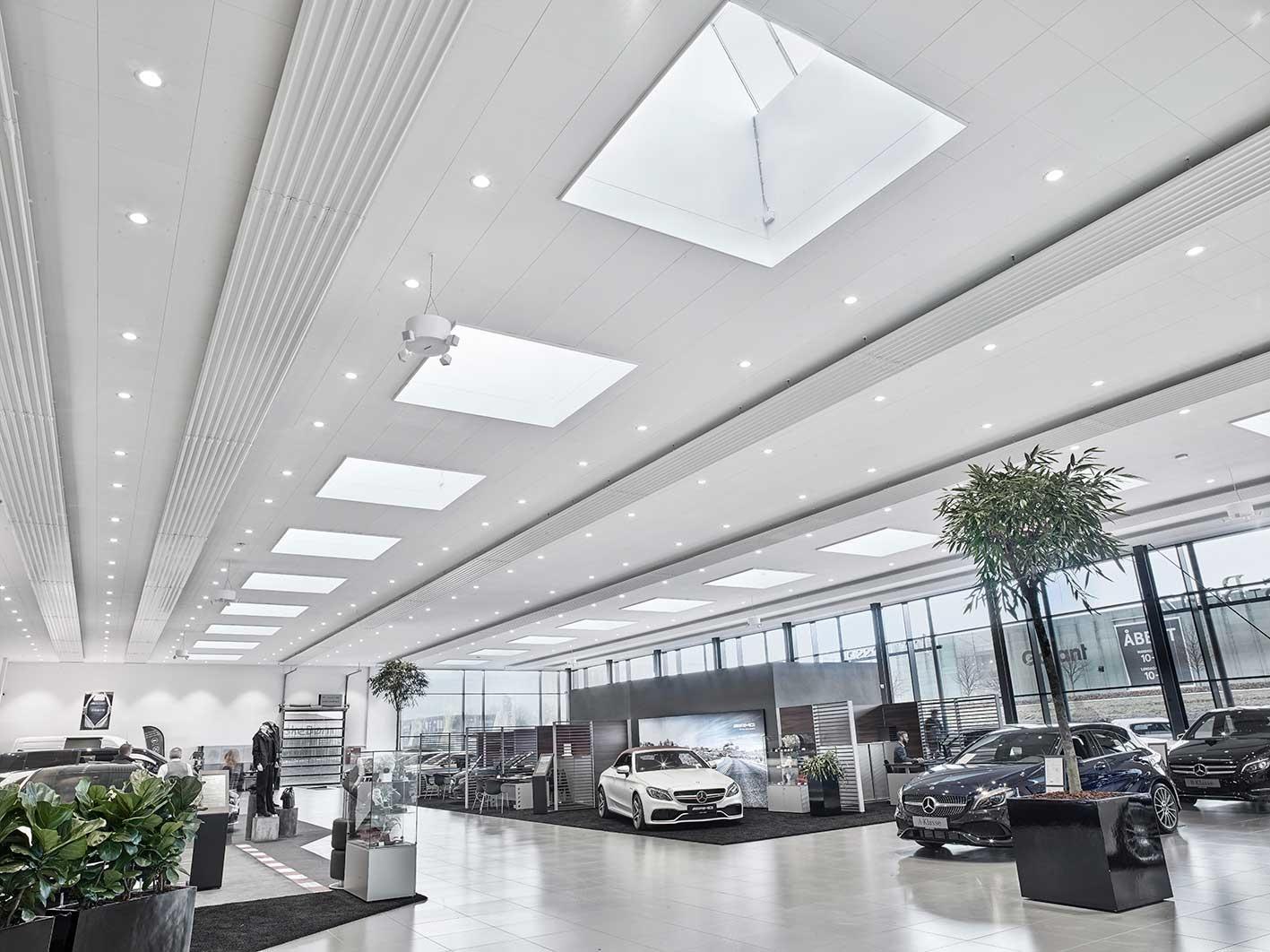 Nyt bilhus til Ejner Hessel i Tilst
