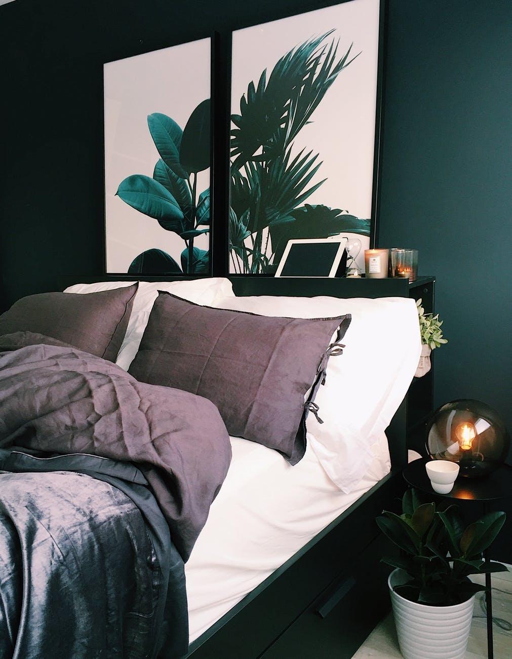 Sådan gør du soveværelset til et sted, du kan slappe af