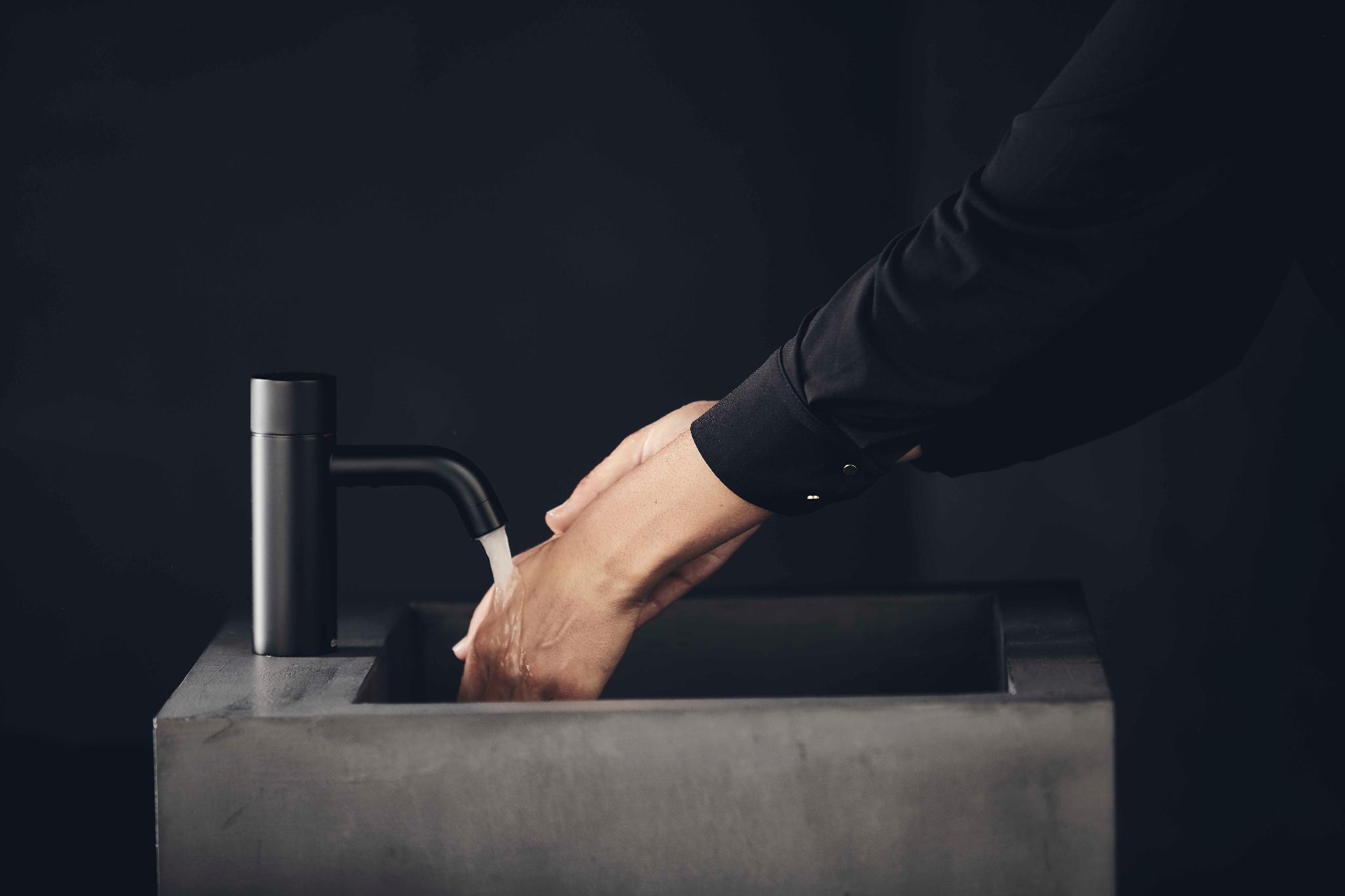 Dansk gennembrud for berøringsfrie vandhaner til hjemmet