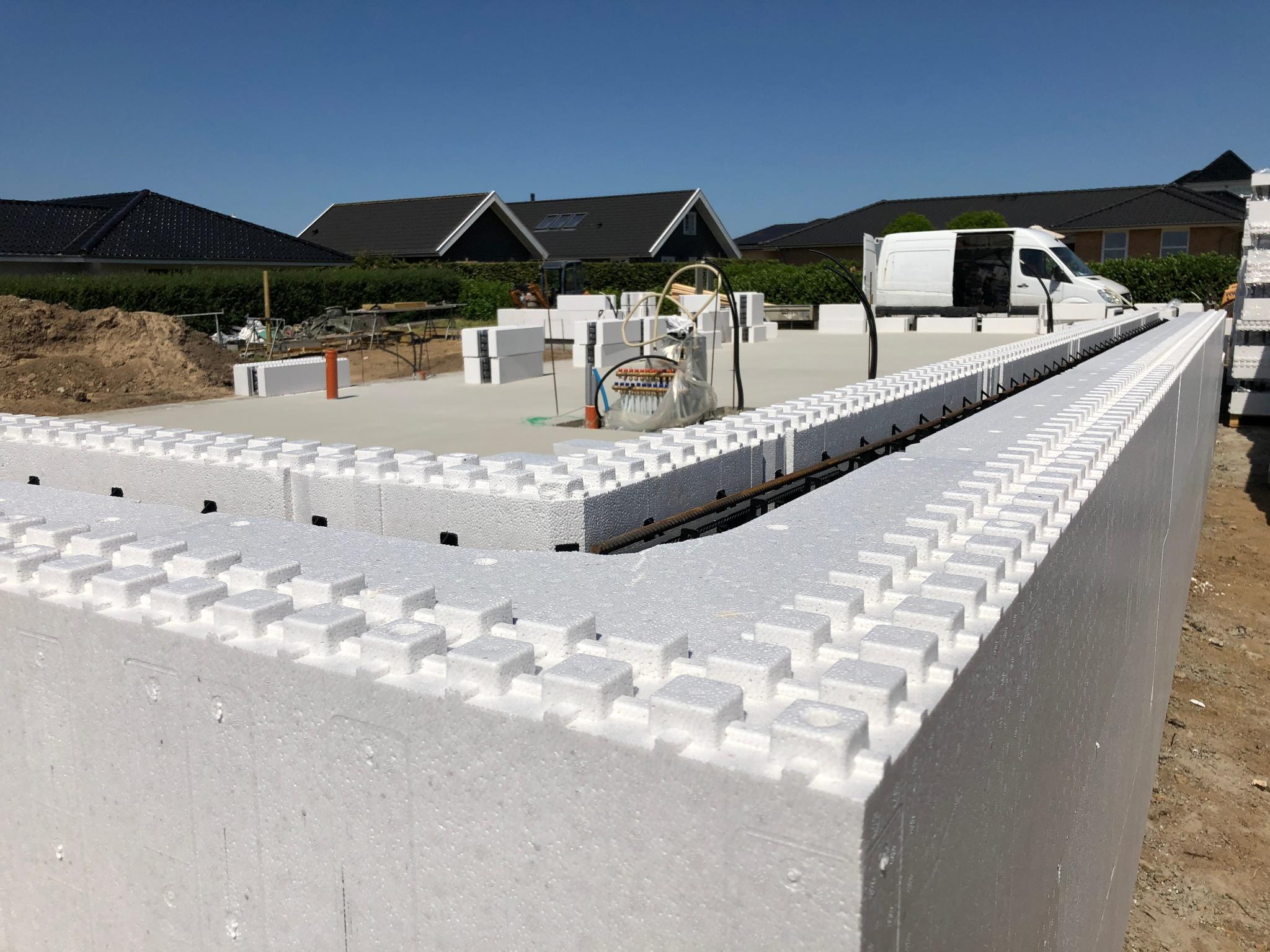 Et energieffektivt hjem af byggeklodser