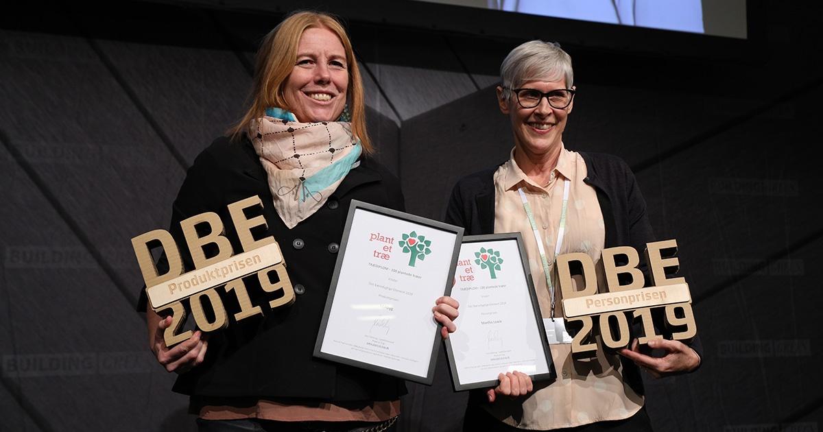 Se de nominerede til Det Bæredygtige Element 2020